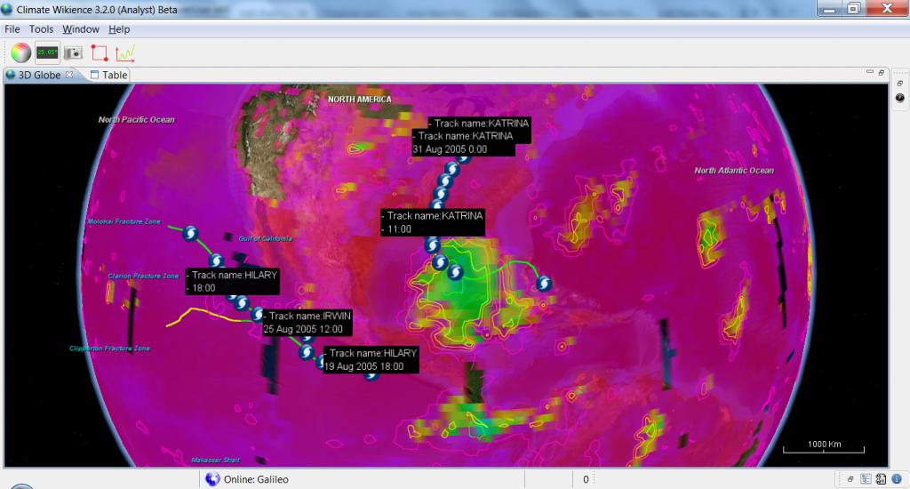 Modis_CLOUDTopTemperature_28Aug2005_KATRINA_peak_strength_with_hurricane_path