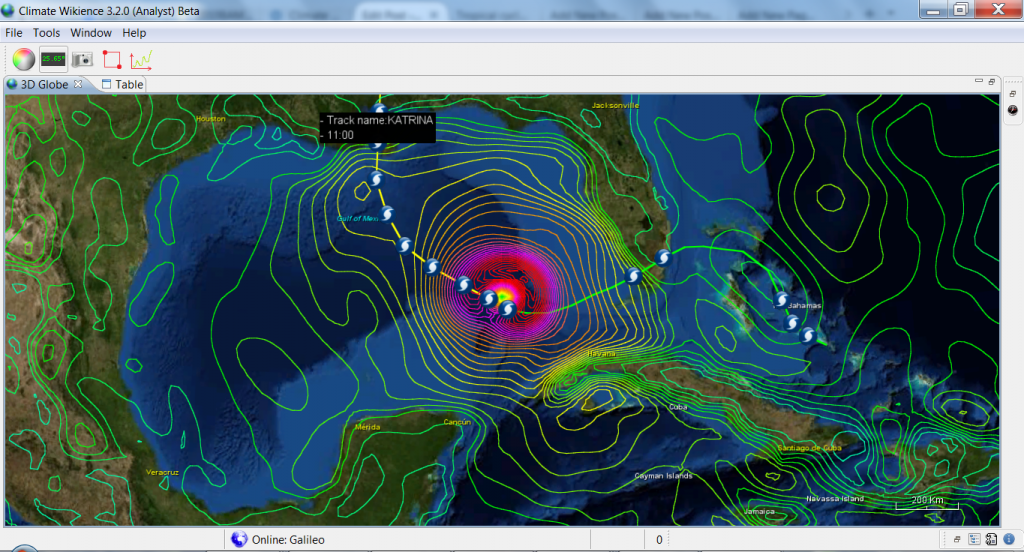 NCEP_CFSR_AND_IBTRACKS_HURRICANE_KATRINA_28August2005_ZOOM